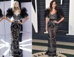 Kate Beckinsale In Zuhair Murad - 2017 Vanity Fair Oscar Party