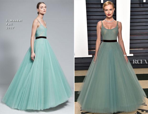 Kate Bosworth In J. Mendel - 2017 Vanity Fair Oscar Party - Red ...