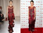 Katie Holmes In Marchesa - Go Red for Women Dress Collection 2017