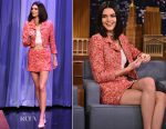 Kendall Jenner In Chanel - The Tonight Show Starring Jimmy Fallon