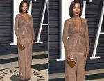 Kerry Washington In Michael Kors Collection - 2017 Vanity Fair Oscar Party