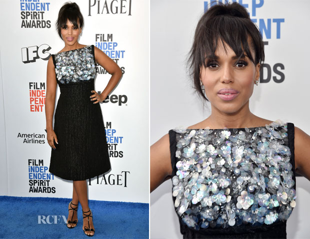 b6f6c2ec49 Kerry Washington attended the 2017 Film Independent Spirit Awards on  Saturday (February 25) in Santa Monica, California.