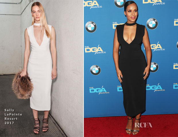 Kerry Washington In Sally LaPointe - 2017 Directors Guild Of America Awards