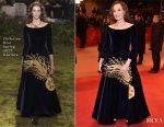 Kristin Scott Thomas In Christian Dior Couture - 'The Party' Berlin Film Festival Premiere