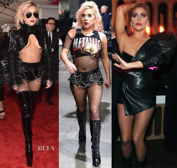 lady gaga s three 2017 grammy awards outfits red carpet fashion awards 2017 grammy awards outfits