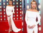 Laura Whitmore In Suzanne Neville - 2017 BAFTAs