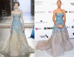 Leona Lewis In Tony Ward Couture - Elton John AIDS Foundation's Academy Awards Viewing Party