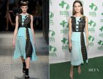 Lyndsy Fonseca In Antonio Marras  - 14th Annual Global Green Pre Oscar Party
