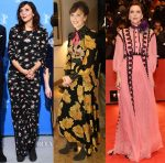 Maggie Gyllenhaal In Preen & Gucci - Berlinale International Film Festival
