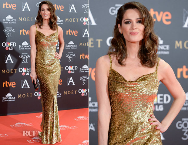 Mar Saura In Michael Kors - 2017 Goya Awards