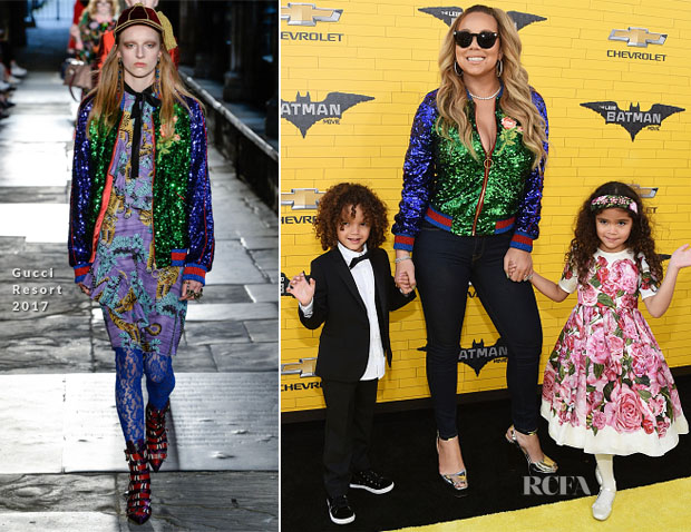 Mariah Carey In Gucci - 'The LEGO Batman Movie' LA Premiere