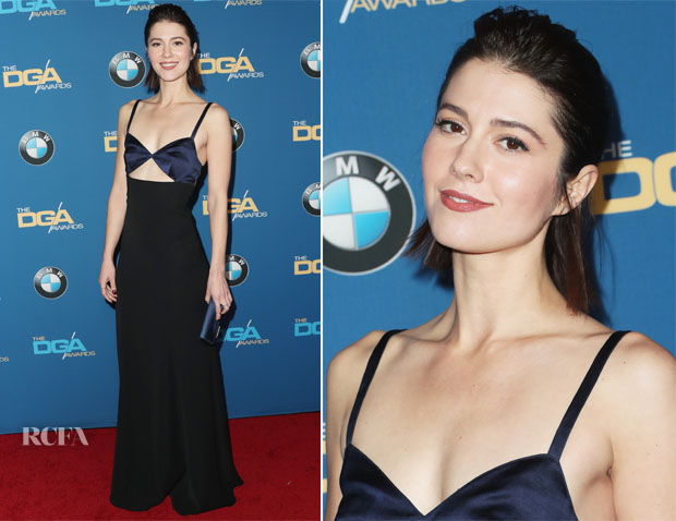 Mary Elizabeth Winstead in Diane von Furstenberg - 2017 Directors Guild Of America Awards