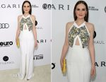 Michelle Dockery In Roland Mouret - Elton John AIDS Foundation's Academy Awards Viewing Party