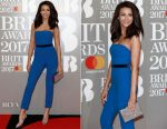 Michelle Keegan In Barrus Nişantaşı - 2017 BRIT Awards