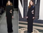 Michelle Monaghan In Brandon Maxwell  - 2017 Vanity Fair Oscar Party