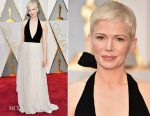 Michelle Williams In Louis Vuitton - 2017 Oscars