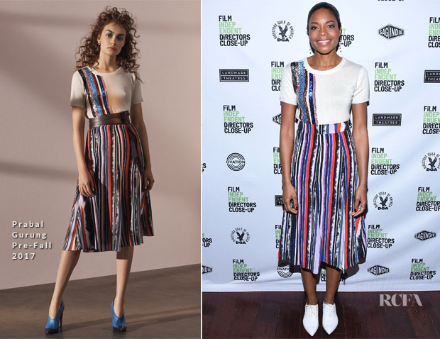 Naomie Harris In Prabal Gurung - 16th Annual Film Independent Directors Close-Up Series - 'Moonlight'