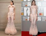 Natalia Vodianova In Givenchy Couture - 2017 BRIT Awards