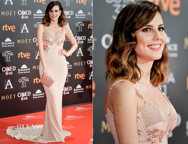 Natalia de Molina In Stella McCartney - 2017 Goya Awards