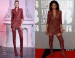 Nicole Scherzinger In Nicolas Jebran - 2017 BRIT Awards