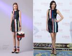 Nieves Alvarez In Versace - Glamour Beauty Awards