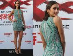 Nina Dobrev In Julien Macdonald - 'xXx: Return Of Xander Cage' Beijing Press Conference