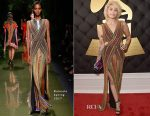 Paris Jackson In Balmain - 2017 Grammy Awards