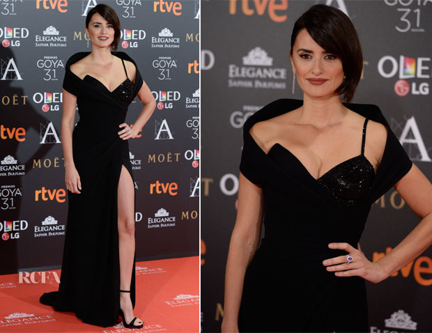 Penelope Cruz In Atelier Versace - 2017 Goya Awards