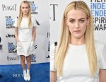 Riley Keough In Louis Vuitton - 2017 Film Independent Spirit Awards