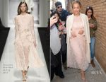 Rita Ora In Ermanno Scervino & Cyclas - Live with Kelly