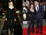 Robert Pattinson In Dior Homme & FKA Twigs In Givenchy - 'The Lost City of Z' London Premiere