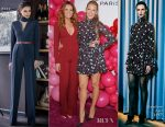 Robyn Lively In Rhea Costa & Blake Lively In SemSem - L'Oreal Paris Paints + Colorista Launch Event