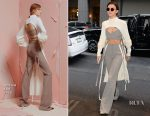 Ruby Rose In ADEAM - Out In New York City
