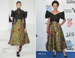 Ruth Negga In Delpozo - 2017 Film Independent Spirit Awards