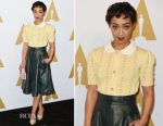 Ruth Negga In Miu Miu - 89th Annual Academy Awards Nominee Luncheon