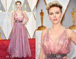 Scarlett Johansson In Azzedine Alaïa - 2017 Oscars