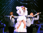 Jennifer Lopez Wears Julien Macdonald For The 'All I Have' Las Vegas Show