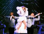 Jennifer Lopez Wears Julien Macdonald For The 'All I Have' Las Vegas Show