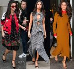 Selena Gomez In Coach, Proenza Schouler & Victoria Beckham - Out In New York City