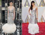Sofia Boutella In Chanel Couture - 2017 Oscars