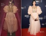 Soko In Gucci - 2017 César Film Awards