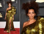 Solange Knowles In Gucci - 2017 Grammy Awards