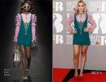 Tallia Storm In Gucci - 2017 BRIT Awards