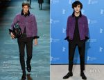 Timothee Chalamet In Berluti - 'Call Me by Your Name' Berlin Film Festival Photocall