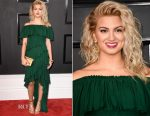 Tori Kelly In Badgley Mischka - 2017 Grammy Awards