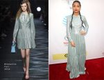 Yara Shahidi In Blumarine - 2017 NAACP Image Awards