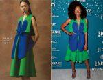 Yvonne Orji In Delpozo - Essence Black Women In Hollywood Awards