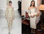 Zoe Saldana In Jonathan Simkhai - Cadillac Celebrates Oscar Week