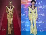 Adwoa Aboah In Gucci - 'Ghost In The Shell' Paris Premiere