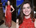 Anne Hathaway In Vintage Oscar de la Renta - 'Colossal' New York Premiere After Party